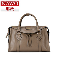 Nawo 2013 women's handbag fashion genuine leather women's handbag messenger bag Free shipping