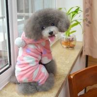 Four-legged dog flannel fleece pet dog winter clothes dog clothes wholesale dog clothing pet clothing legs
