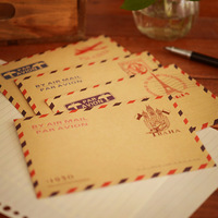 10pcs/set Korea fashion stationery fresh vintage craft paper Large gift envelope window envelope 11*16.2cm 0885