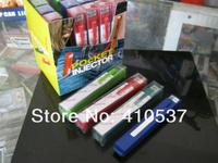 Free shipping 5pcs/lot mini portable pen shape Fashion plastic tube filling machine cigarette rolling machine