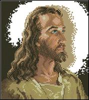 Free shipping DIY unfinished Cross Stitch kit Christian Jesus Dmc  JDJ-D039