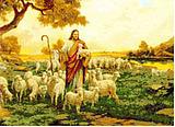 Free shipping DIY unfinished Cross Stitch kit Christian Jesus grazing JDJ-D027