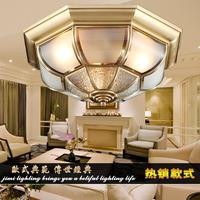 2014 hot sale Fashion vintage ceiling light american vintage bedroom lights full copper lamp fashion copper ceiling light