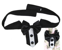 Large Dog Tie Collar festival big dogs party bowtie for wedding grooming