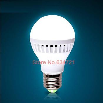 5PCS/Lot AC220V E27 3W 5W 7W Led Bulb Energy Saving Super Bright Indoor Lighting Free Shipping