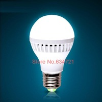 5PCS/Lot AC220V E27 3W 5W 7W Led Bulb Energy Saving Super Bright Indoor Lighting Free Shipping