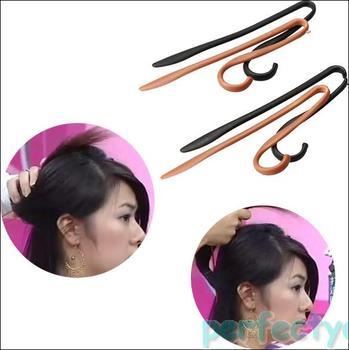 NEW Hairpin Hair Clip Updo Headwear Twist Jumbo Clips Hairstyle PY5#