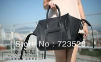 2013 fashion handbag women leather handbags boston totes high quality Cowhide handbags