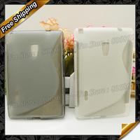 Vu 3 S type tpu case,New  S line TPU Gel Case For LG Optimus Vu 3 by DHL Free Shipping