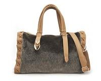2014 New winter fur women handbag  imitated mink fur shoulder bag fashionable female bag wholesale price khaki and black bag
