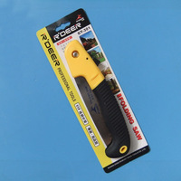folding saw, outdoor camping buckramed back saw carpenter's saw, gardening tools hand pocket saw