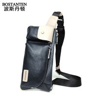 Free Shipping Male Vintage Genuine Leather Cowhide Waist Pack Multi-functional Outdoor Pockets Chest Bag Taravle Belt Wallets