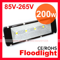 200W led flood light warm white/ cool white/nature white floodlight AC85-265V outdoor street lighting Free shipping