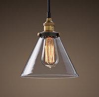 French loft light bucket bar pendant light