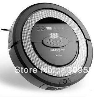 2013 NEW Robot vacuum cleaner,dual side brush,UV,Mop,Mute,Slim,LCD, Auto charge robot vacuum cleaner