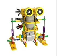 Small Eyes Electromotion Robot Series Toy/Eletromotion Building Blocks green
