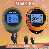 HOT! Discount ! 1.4 inch Mini Handheld GPS Navigation For Outdoor Sport Travel 512KB, Free Shipping