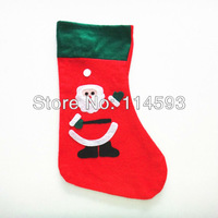 300pcs Christmas Stockings Finished Sequins Santa Snowman Toys