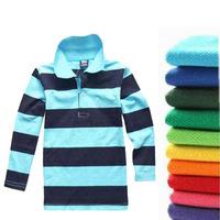 Children Shirts New Autumn 2013 Kids Boys Fashion shirt Long-sleeve Turn-down Collar Girls Tops & Shirt