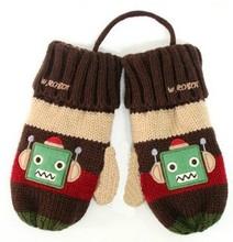 cheap kids knit mittens
