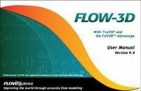 Professional casting simulation software FLOW-3D9.4, English / Multilanguage