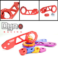 Dyno racing UNIVERSAL PASSWORD JDM REAR TOW HOOK (Purple Red Blue Gold Sliver Black)