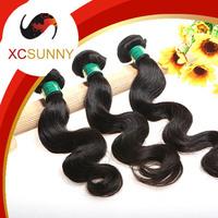 2014 XCSUNNY 5A Unprocessed 12-26 inch 3pcs Body Wave 100% Peruvian Virgin Remy Human Hair Weft Weave 100g/pcs PVH011