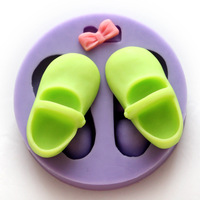 Nicole silica gel mould shoes sugar cake decoration mould cake decoration mould
