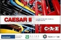 International general pipe stress analysis software eagle CAESAR II V5.1, English version / multiple languages