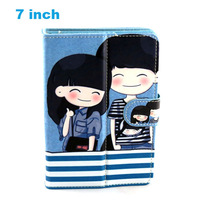 7 inch Leather Case Flip Cover for Tablet PC