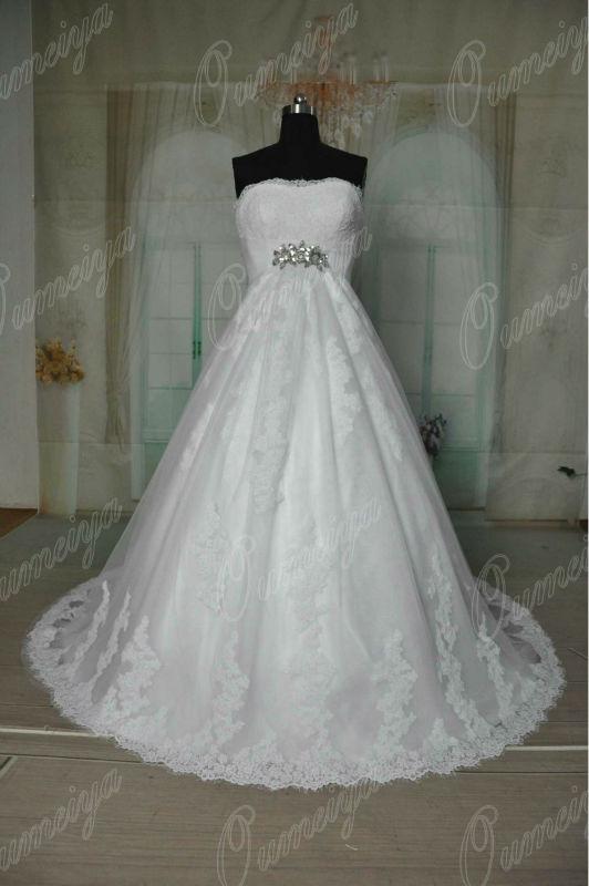 Popular Snow White Wedding Dress