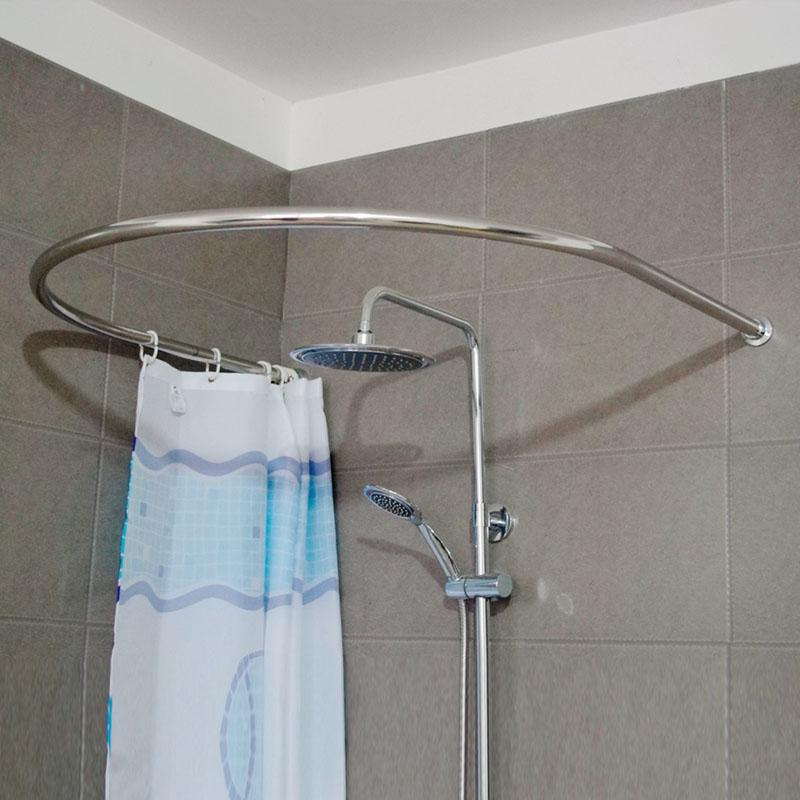 round shower curtain rod MEMEs
