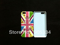 Free shipping 100pcs/lot keep calm and carry on UK Flag Hard  Cover Back Case For Iphone 5C New