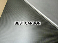 2.0mm x 400mm x 500mm 100% Carbon Fiber Plain Matte Plate , carbon fiber sheet, carbon fiber panel ,glossy surface