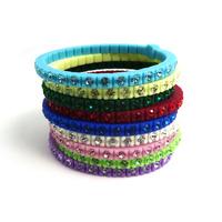 2013 Fashion  silicone stone bracelet