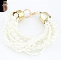 all-matched Imitation pearl bracelet temperament  bead bracelet / bangle fashion jewelry