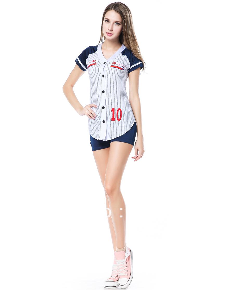 Wholesale Sexy Sport Costume Baseball Player Costume H39153(China (Mainland))