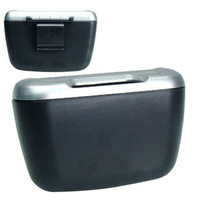 free shipping mini auto car trash rubbish bin can garbage dust case holder box bin black car ashtray
