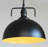 Modern vintage loft m mount semi-cirle pendant light study light