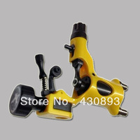 Plastic Tattoo Rotary Motor Machine L/S Dragonfly Style/Tattoo Gun-yellow