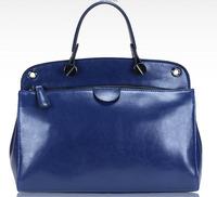 2013 women's handbag fashion wax leather bag handbag cross-body women's genuine leather handbag cowhide women's handbag