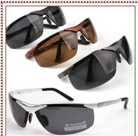 New Policeman driver fishing ski Polarized Sunglasses 100% UV400 Sun glasses / Black 933