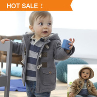 Boys Winter Jacket Clothes 2 Color 2013 New Kids Outerwear Coat 95% Cotton Baby  Thick Clothes Children Clothing With Hooded