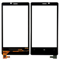 10pc/lot Free shipping by DHL or EMS  LCD Digitizer Touch Screen Glass replacement Parts For Nokia Lumia 920 Black