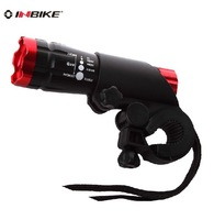 Free Shipping INBIKE Headlights light focusable flashlight bicycle lights MTB file zoom (4colors for choose0