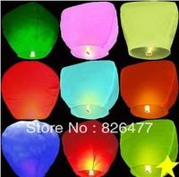 Flying sky lanterns wishing lamp wedding lights Chinese Kongming paper lantern balloons party decoration birthday Wholesale
