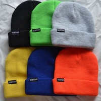 Free shipping Burton skateboard knitted hat cap knitted hat skiing monoboard cap neff analog