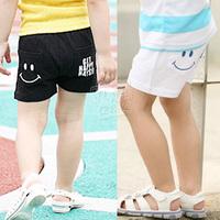 2013 summer smiley boys clothing girls clothing baby child shorts kz-1618