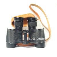 Good TOP Military 62 Binoculars 8x30 Binocular Telescope w Color Filters Waterproof Shockproof with free cowhide box free ship