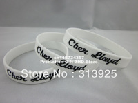Silicon wristband, personalized logo, filled in colour, silion bracelet, promotion gift, 100pcs/lot